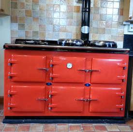 Aga Style Range Cooker Pellet stove