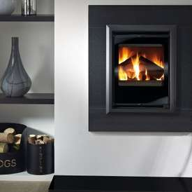 The Aquila 450 Contemporary Inset multifuel stove