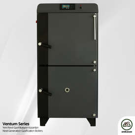 Arikazan Ventum VG log gasification boilers