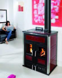 Klover BiFire Mid Log and Pellet Boiler Stove