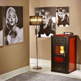 Klover Diva Pellet Burning Boiler Stove