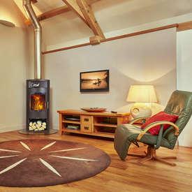 Opus Calypso contemporary boiler Stove