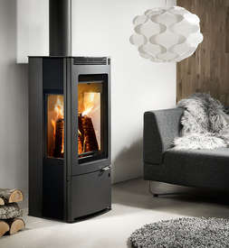 Westfire 33 side glass stove