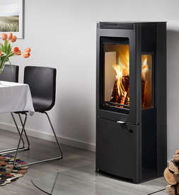 Westfire 34 side glass stove