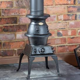 Clarke potbelly stove standard size