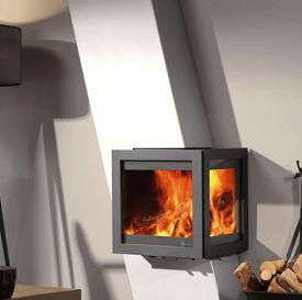 Dik Guerts Tornado Oblique stove