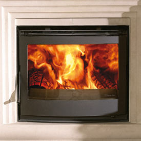 Dovre 2520 single sided insert stove