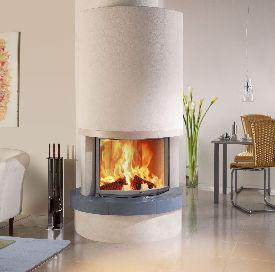 Fondis Carina Curved stove