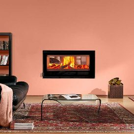 La Nordica Crystal 100 Double sided Insert stove