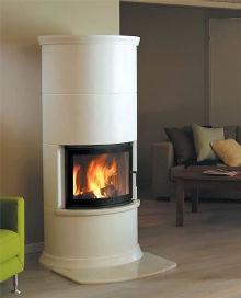 Roma ceramic style stove