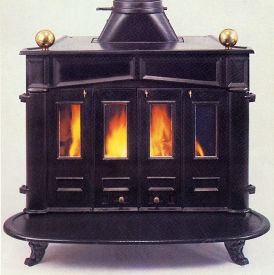 Small Country Franklin stove