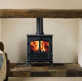 Stovax Riva Plus Midi woodburning stove