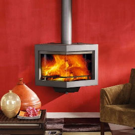 Wanders diamond wood burning stove