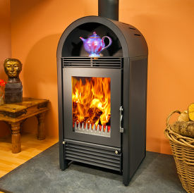 Woodfire C12 Contemporary Boiler Stove