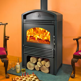 Woodfire C18 contemporary boiler stove
