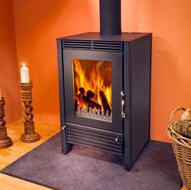 Woodfire F12 contemporary boiler stove