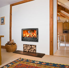 Woodfire RS 15D double sided insert stove