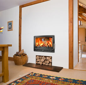 Woodfire RS 19D double sided insert stove
