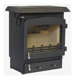 Woodwarm Fireview 5 Slender stove