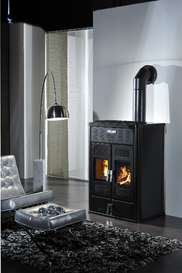 Klover BiFire Log and Pellet Boiler Stove