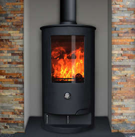 Leaf Hawthorn 5 compact stove