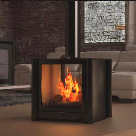 Firebelly FB3 double sided stove