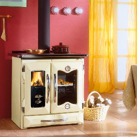 La Nordica Suprema woodburning cooking stove