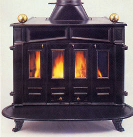 Large Country Franklin stove