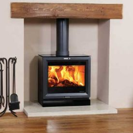how to get the most heat from a wood burner