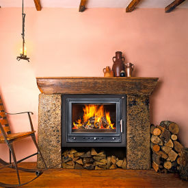 Woodfire RS 24 insert boiler stove