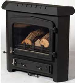 Woodwarm Fireview 4kW inset stove