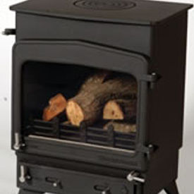 Woodwarm Fireview 6KW Flat top stove