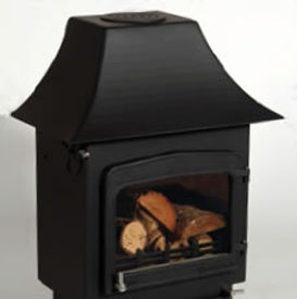 Woodwarm Fireview 9kw stove